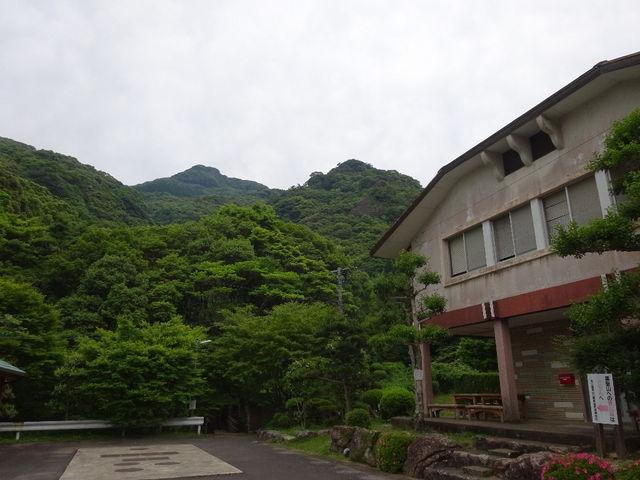 キャンプ場入り口_竜門キャンプ場