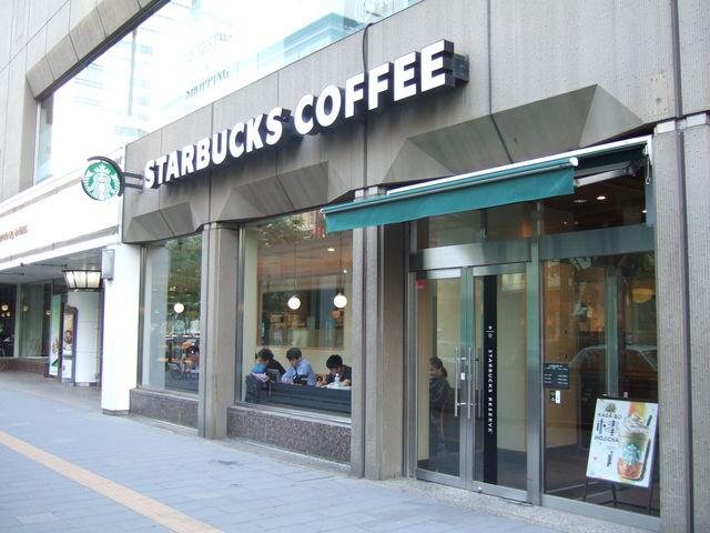 お店の外観_スターバックス・コーヒー 札幌グランドホテル店