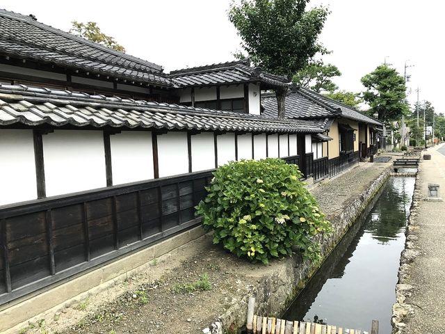 山寺常山邸の近辺_城下町松代
