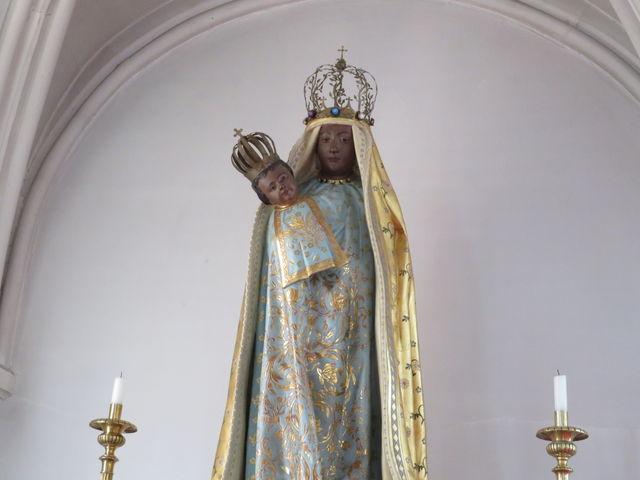 黒いマリア像_鶴岡カトリック教会天主堂