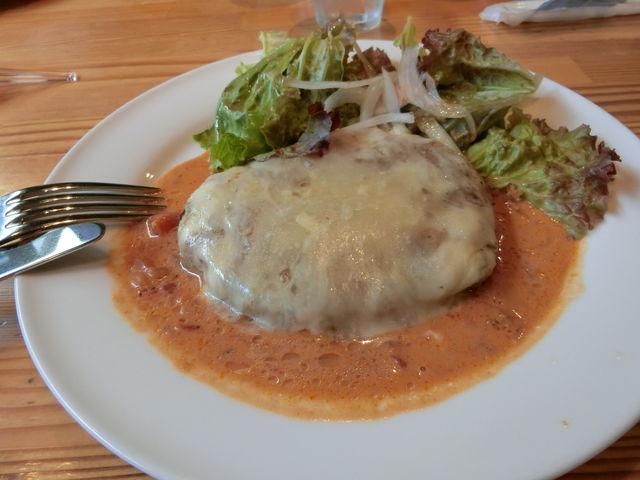 チーズハンバーグ、面白かった!_千本松牧場