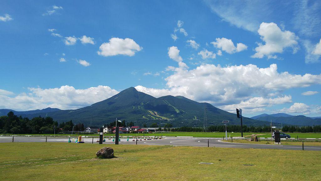 磐梯山(会津富士)
