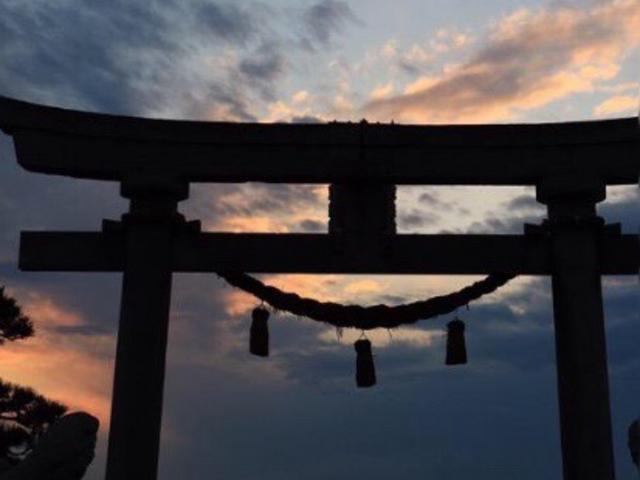 鳥居_諏訪神社