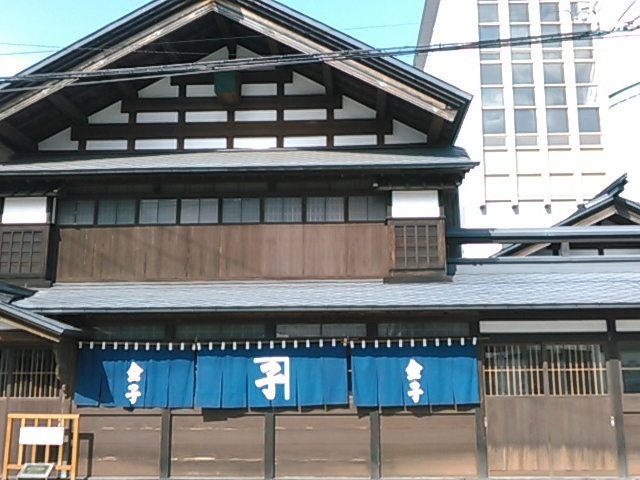 隣りの旧金子家住宅。_秋田市民俗芸能伝承館(ねぶり流し館)
