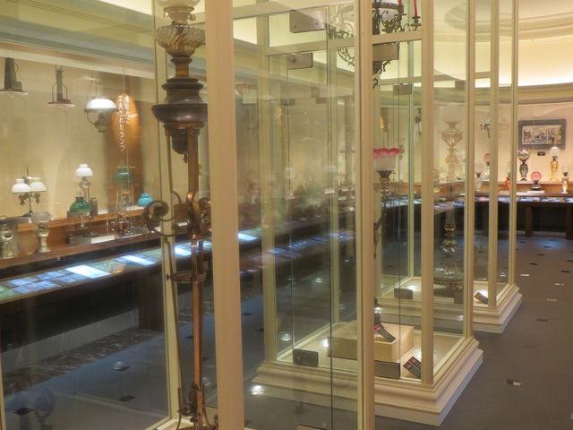 ヨーロッパのランプ_神戸らんぷミュージアム