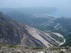 山頂から前浜方面_天上山