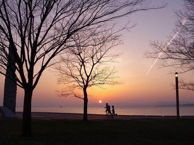 宍道湖の夕日_宍道湖夕日スポット