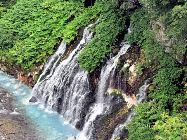 白ひげの滝_白ひげの滝