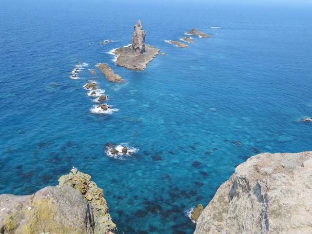 岬の突端から_神威岬