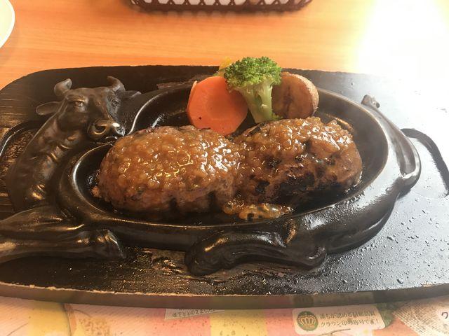げんこつハンバーグランチ オニオンソース_炭焼きレストランさわやか 静岡インター店