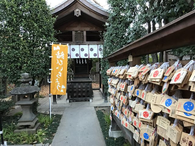 恋愛成就の神社と絵馬_行田八幡神社
