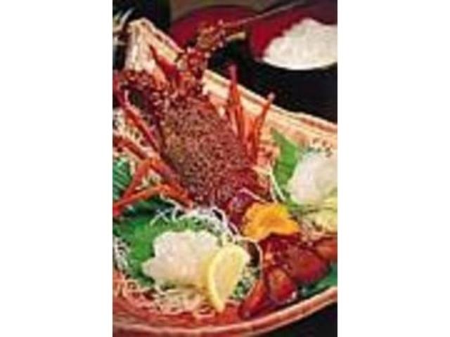 お造りにされても触覚がピクピク動く新鮮さ_天草地魚料理 いけすやまもと