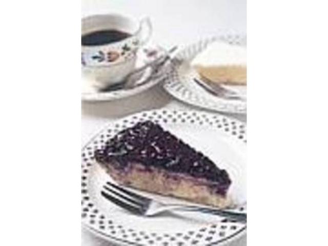 甘さひかえめのブルーベリーチーズケーキ_さざ波