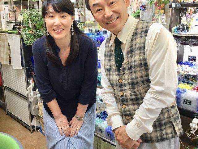 『ぶらり途中下車の旅』日本テレビ/土曜日9:25~10:30放送 石井さんがぶらりとお店に来て下さいました。とっても気さくな優しい素敵な方でした♪_手作り雑貨の雅<miyabi>