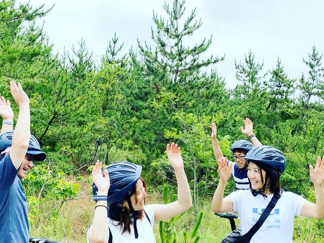 セグウェイにのるだけじゃない!友人や家族、カップルで砂丘を楽しみつくす!_鳥取砂丘セグウェイ周遊ガイドツアー