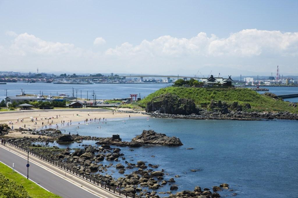 蕪島海水浴場