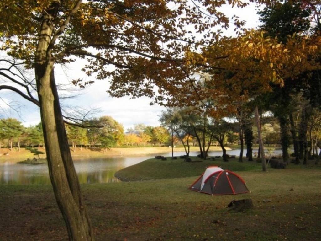 鳥野目河川公園 オートキャンプ場