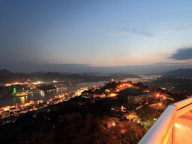 11月の千光寺公園展望台からの夜景_千光寺公園展望台