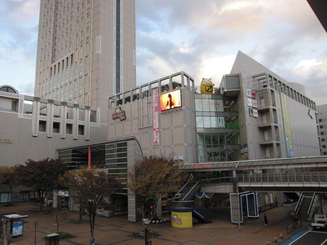 2013年11月20日撮影) 「あるあるcity」にある「北九州市漫画ミュージアム」の外観です。_北九州市漫画ミュージアム