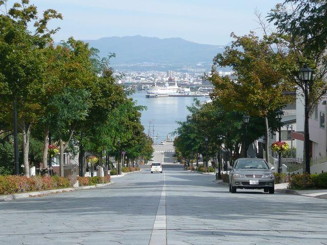 函館の坂道 八幡坂・基坂