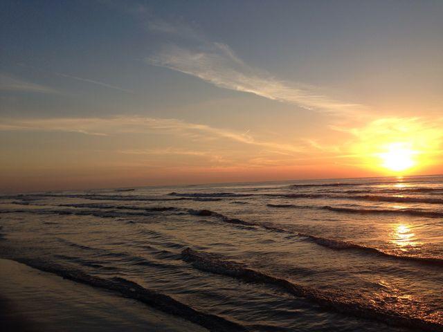 夕日がキレイ☆_千里浜なぎさドライブウェイ
