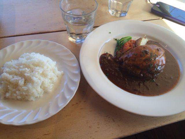ハンバーグ_森のソーセージレストラン ベルツ