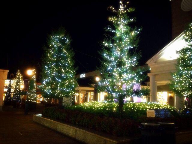 これはクリスマスシーズン。_佐野プレミアム・アウトレット