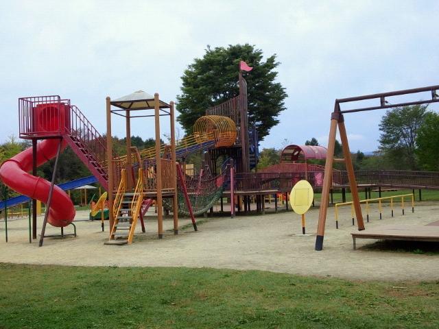 大遊具です_湯川ふるさと公園