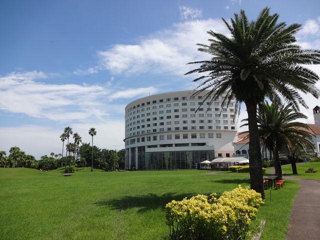 こどもの国からホテルを撮影_ANAホリデイ・イン リゾート宮崎