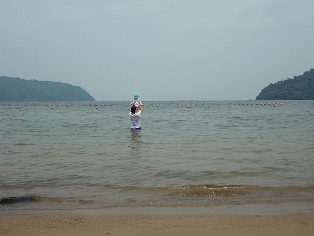あまり水は綺麗でなかったのが残念です_【2020年度営業中止】宮ヶ浜水泳場