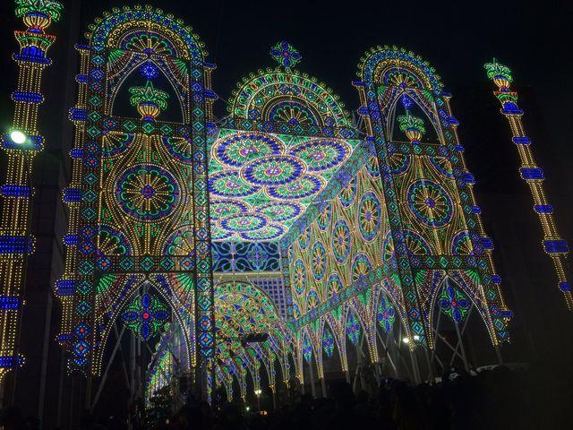 12月は神戸ルミナリエ_神戸市役所24階展望ロビー