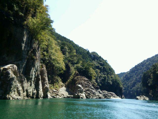 瀞峡からの景色_瀞峡ウォータージェット船