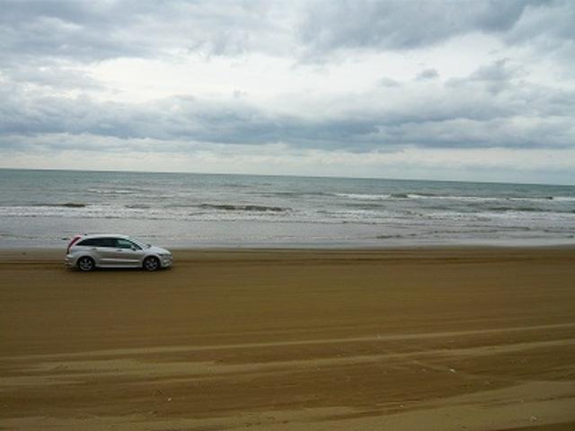 千里浜なぎさドライブウェイ_千里浜なぎさドライブウェイ