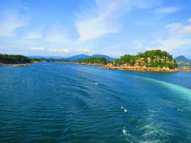 船めぐり_西海国立公園 九十九島