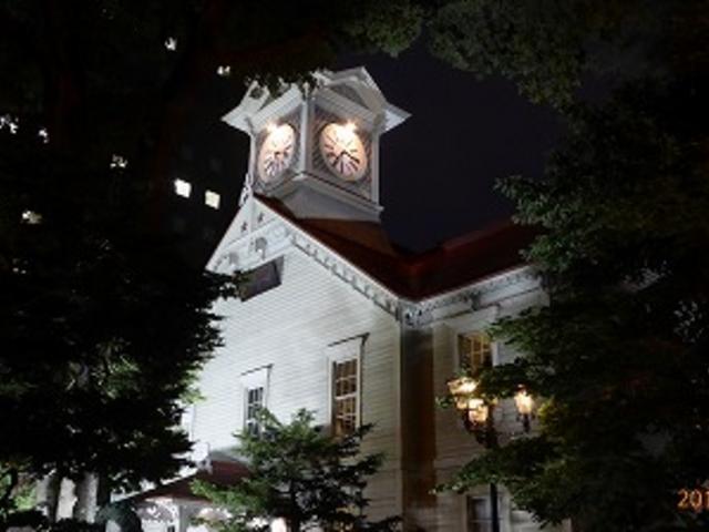 北海道札幌の時計台_札幌市時計台