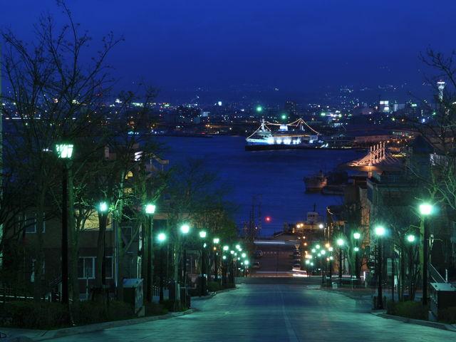 素敵でしたよ。_函館の坂道 八幡坂・基坂