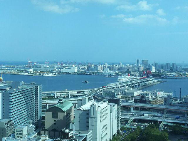 海側_神戸市役所24階展望ロビー