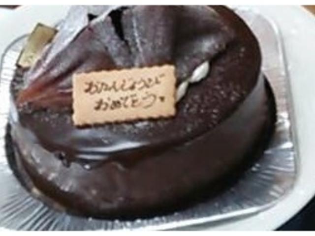 チョコケーキ_ブルシェ