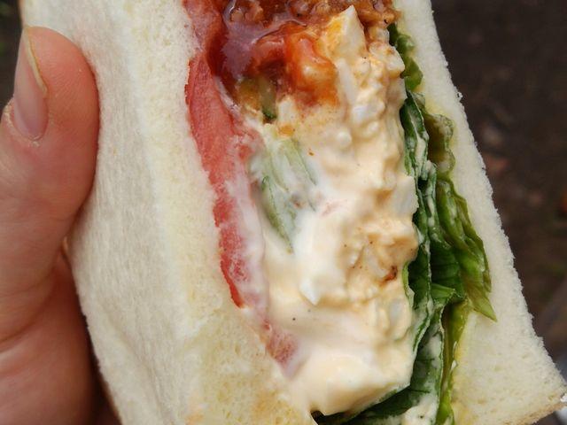 中の具は…オリジナルとエッグ_Sandwich Factory OCM