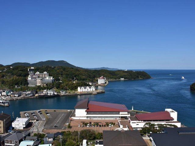 天守からの眺め_平戸城