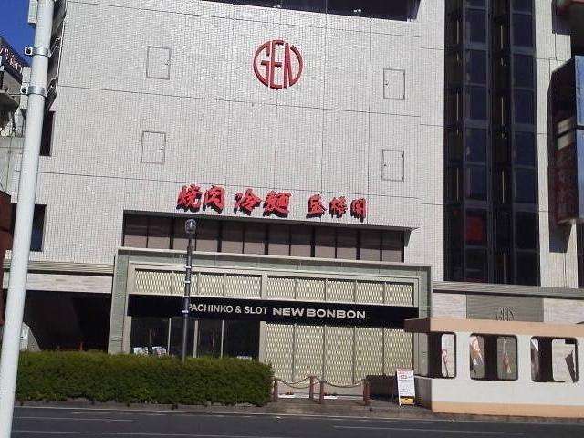 JR盛岡駅の向かいにあります。_焼肉・冷麺 盛楼閣