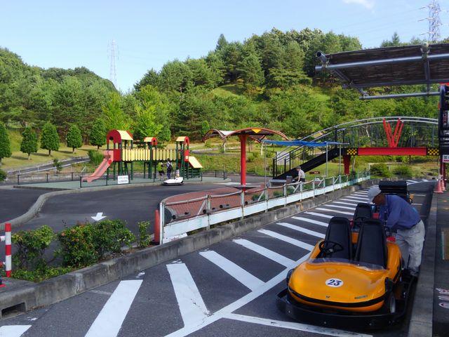 ゴーカートあります_道の駅 小坂田公園