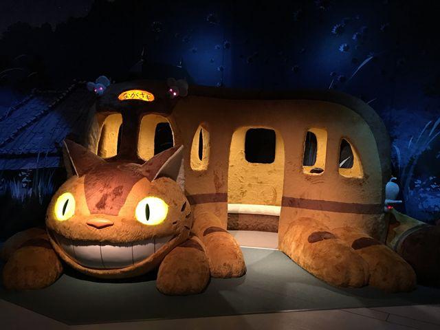 ネコバス♪ 行き先が『ながさき』になってます♪_長崎歴史文化博物館