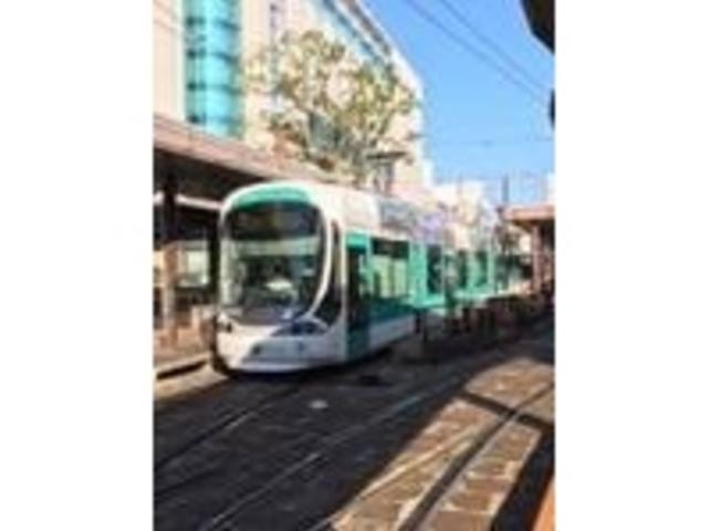 1000系車両。_広島の路面電車