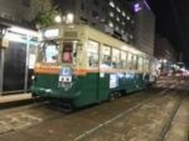 元京都市電1900系車両。_広島の路面電車