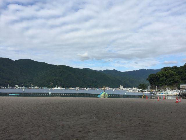穏やか!_御浜海水浴場