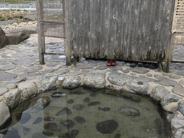 足湯だけなら利用できると思います_河原風呂