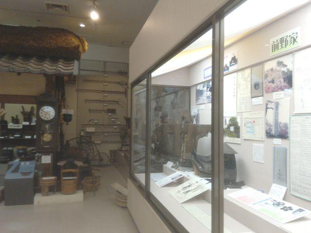 整然とした資料_江南市歴史民俗資料館