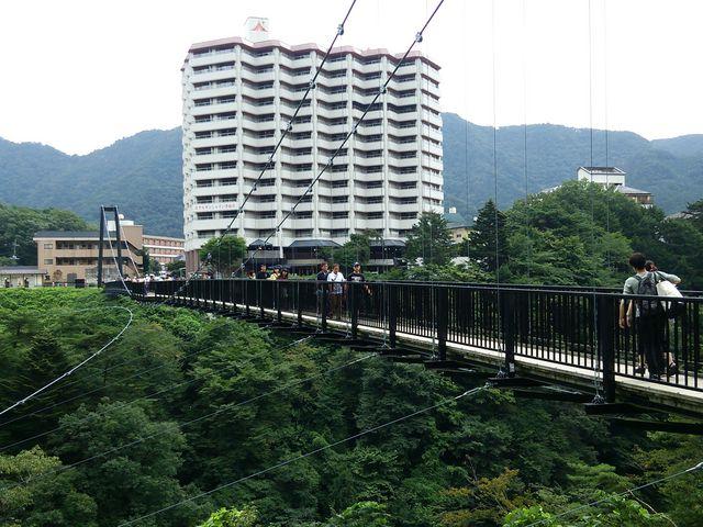 吊り橋☆_鬼怒楯岩大吊橋