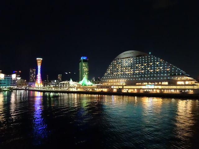 コンチェルトからの夜景_船の旅コンチェルト